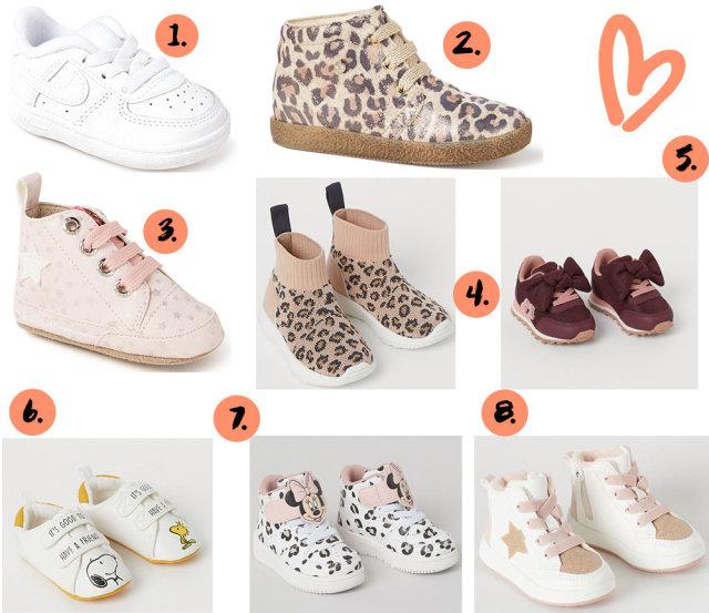 sneakers voor baby meisjes