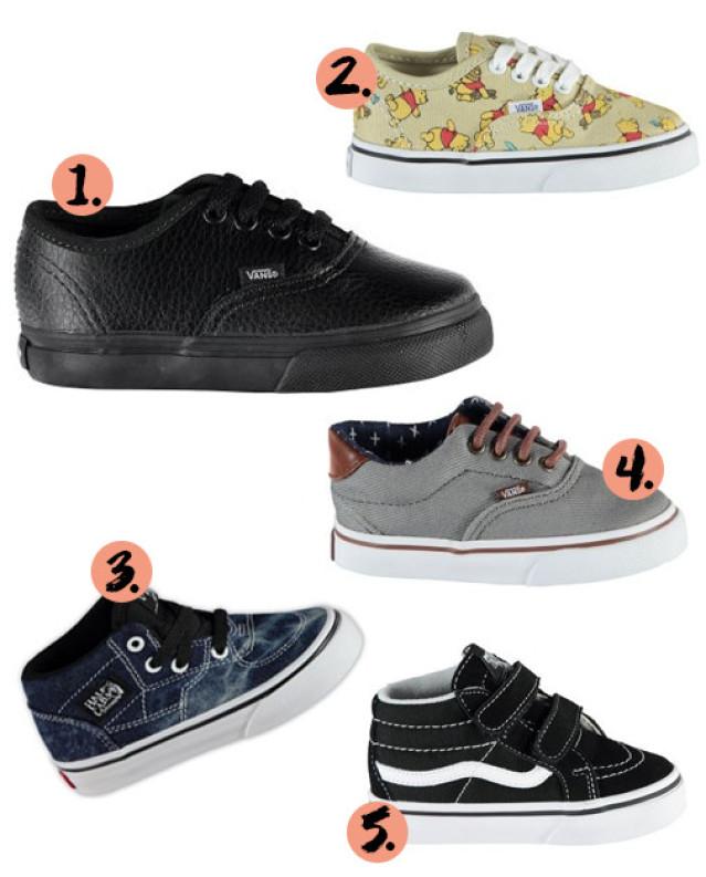 schoenenwinkels met vans