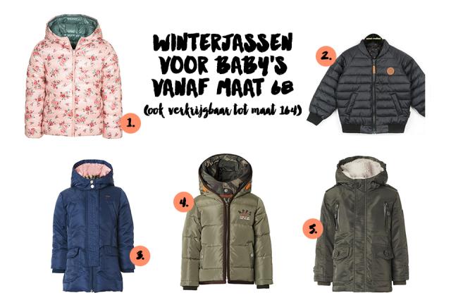 Babykleding Winterjas.Winterjassen Voor Baby S Minime Nl