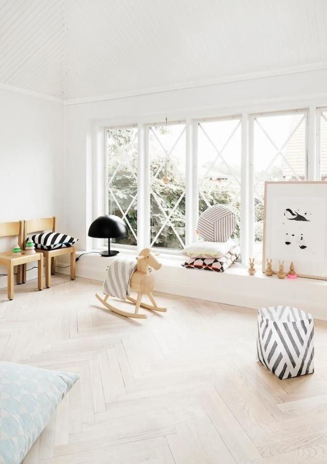 Behang Kinderkamer Scandinavisch : Babykamer patronen prints voor een ...