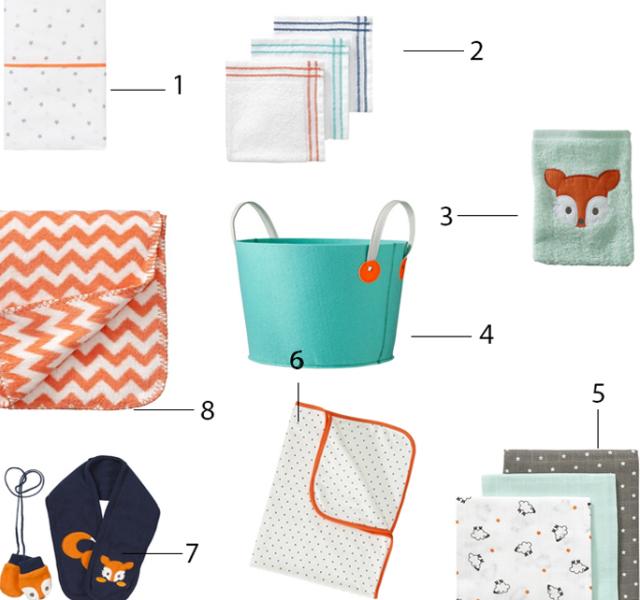 babyspullen oranje stijl | minime.nl, Deco ideeën