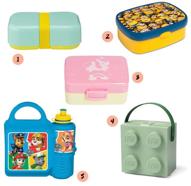 7fc4e8690cb Wat zijn er veel leuke lunchboxes te koop, van hele simpele tot heuse  LEGO-boxen. Wij pikten deze vijf eruit: