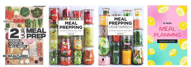 collage meal prepping boeken