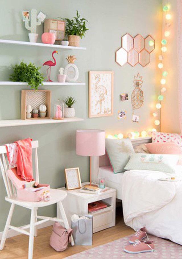 Babykamer flamingo thema - Accessoire room ...