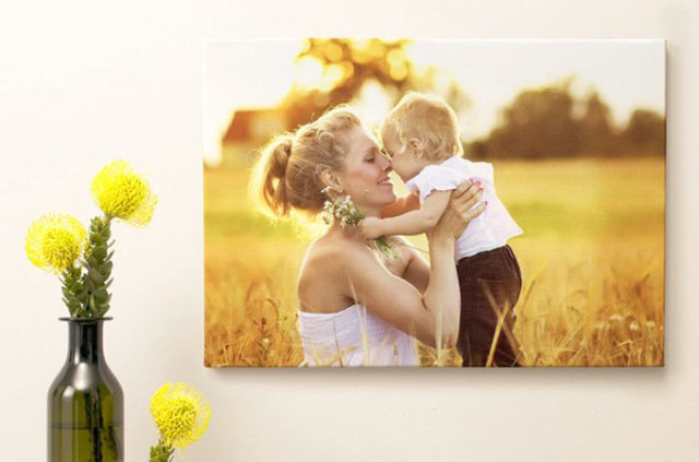 canvas tavlor foto