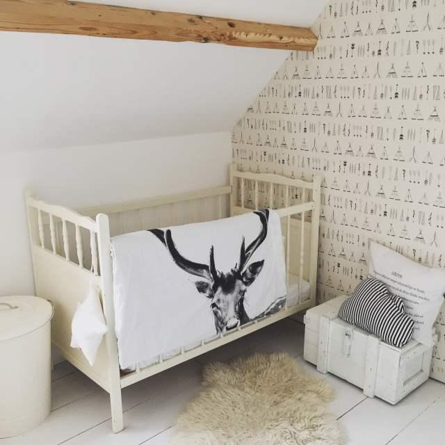 babykamer wit - inspiratie & voorbeelden witte babykamers | minime.nl, Deco ideeën
