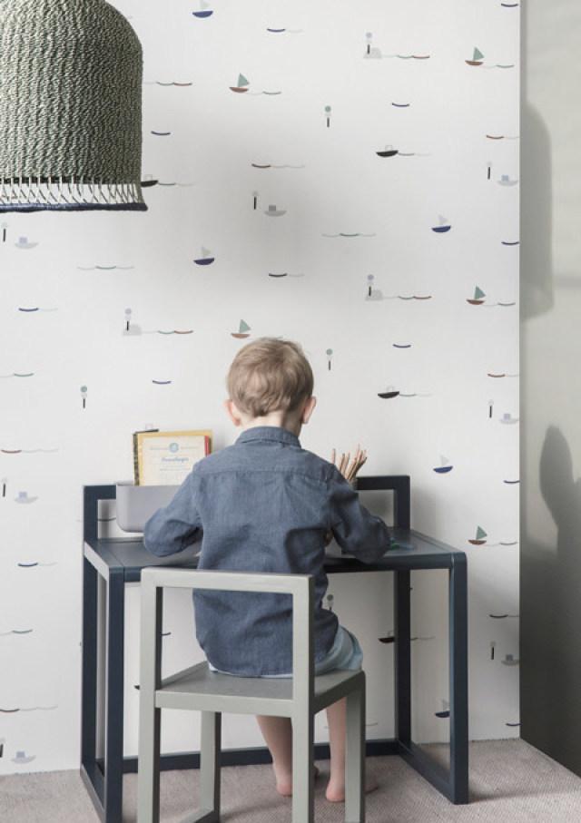 Baby Behang Jongen.Minime Loves Stoer Jongensbehang Voor De Kinderkamer Minime Nl