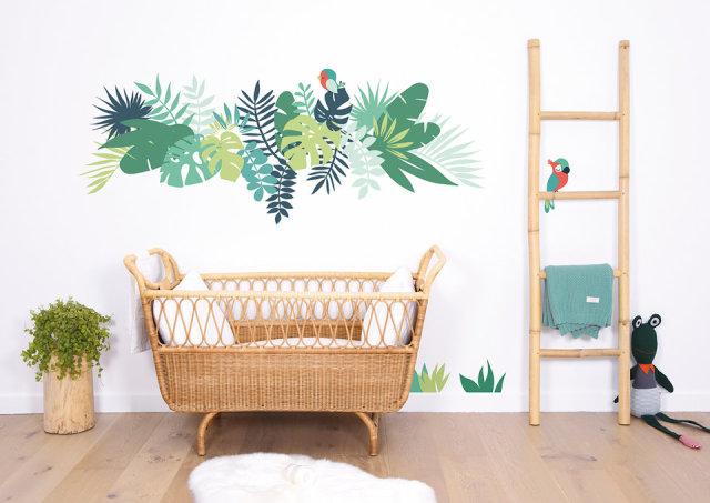 Babykamer inspiratie te gekke botanische babykamers - Kamer deco stijl ...