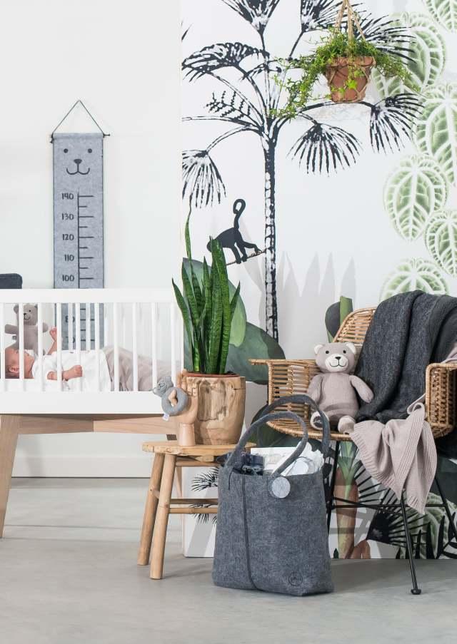 Babykamer Inspiratie Te Gekke Botanische Babykamers