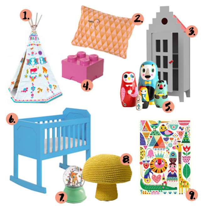 Kleurrijke babykamers - Zin babykamer ...