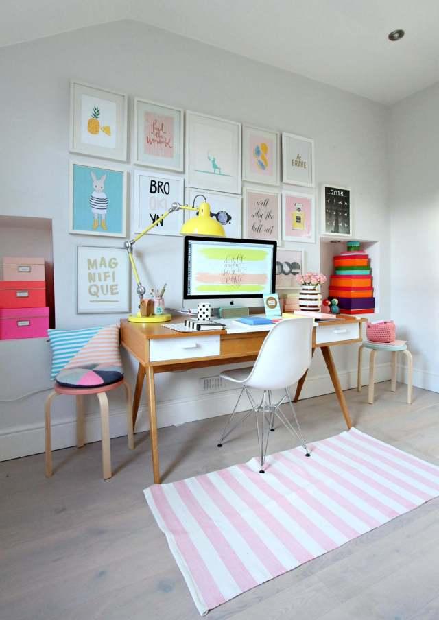 Leuk idee een gallery wall in de kinderkamer - Idee van eerlijke lay outs ...