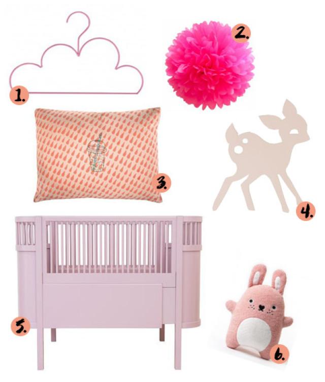 Kinderkamer roze kinderkamer twee ons geluk slaapkamer accessoires decoratie babykamer en - Kinderkamer grijs en roze ...
