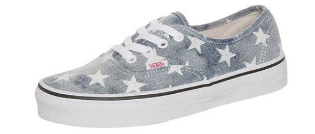 vans schoenen met sterren