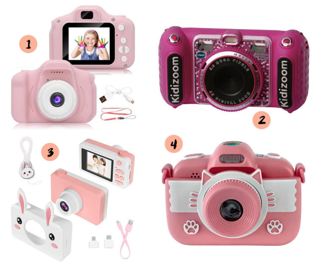 Collage kindercamera's