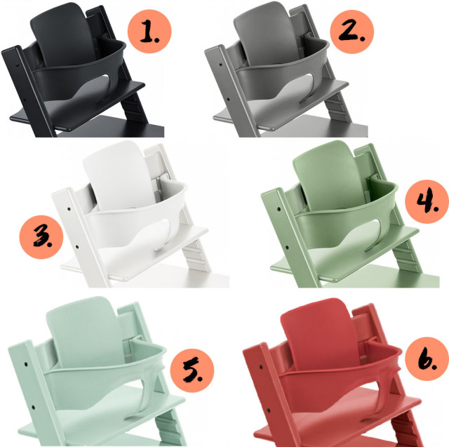 collage baby sets stokke tripp trapp