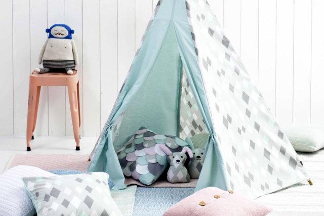 Tipi Tent Kinderkamer : Een tipi in de kinderkamer minime