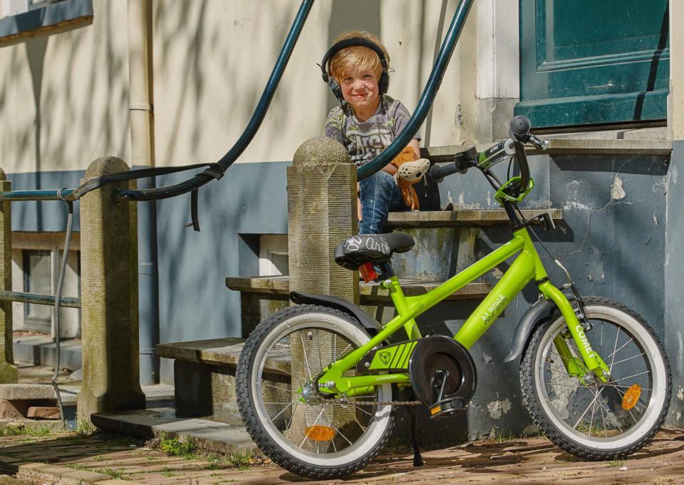 Je kind alleen naar school laten fietsen
