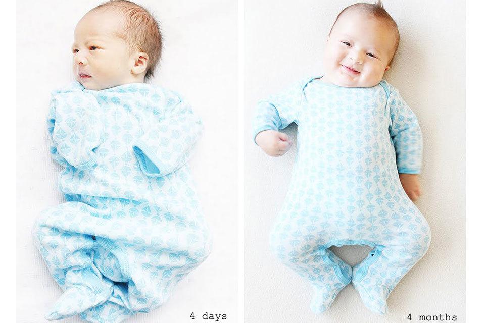 maat 44 babykleding
