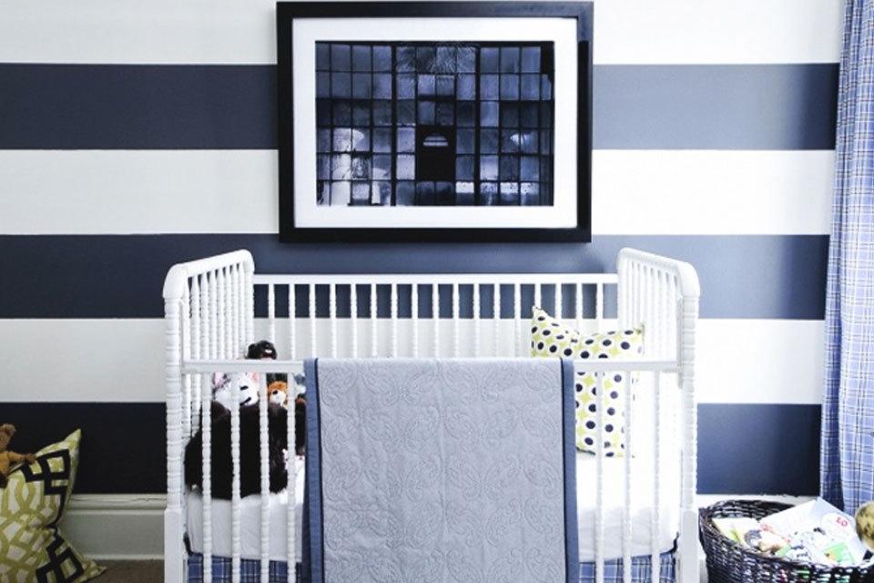 blauwe babykamers inspiratie | minime.nl, Deco ideeën