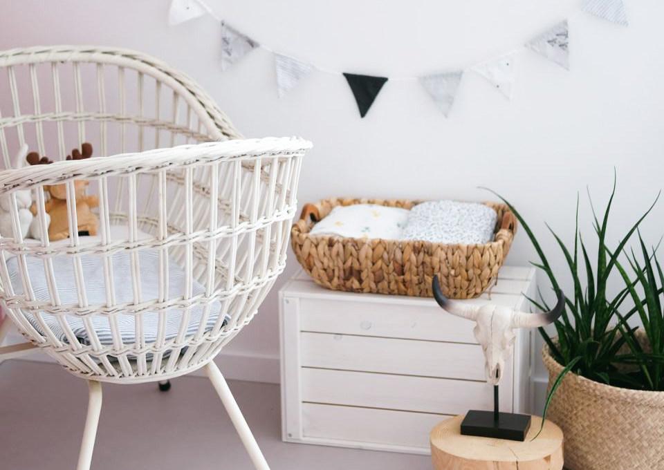 Babykamer Behang Groen : Babykamer behang prints minime