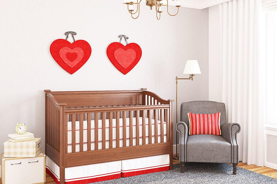 De 4 grootste fouten bij inrichten babykamer - Gordijn voor baby kamer ...