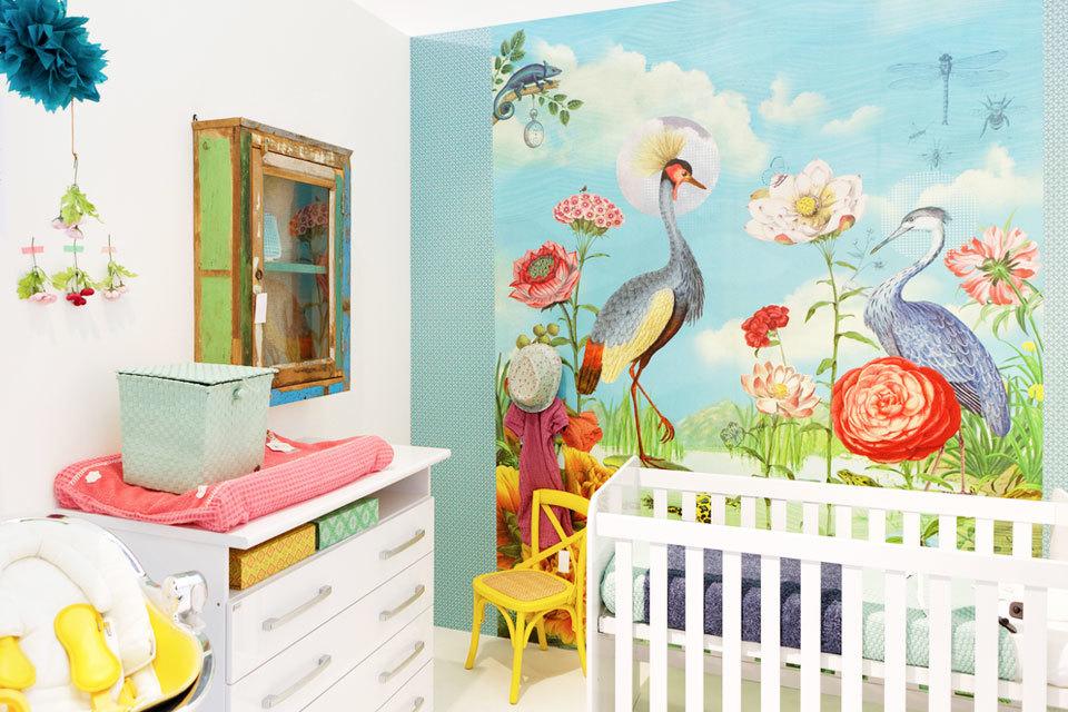 kleurrijke babykamers | minime.nl, Deco ideeën
