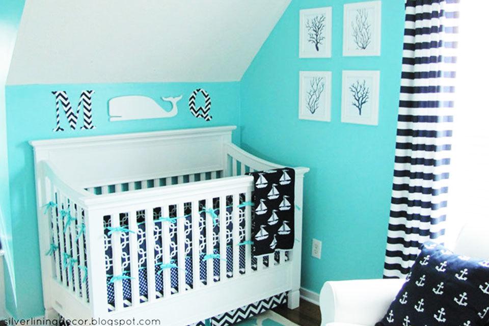Kinderkamer Kinderkamer Thema : Babykamer strand thema minime
