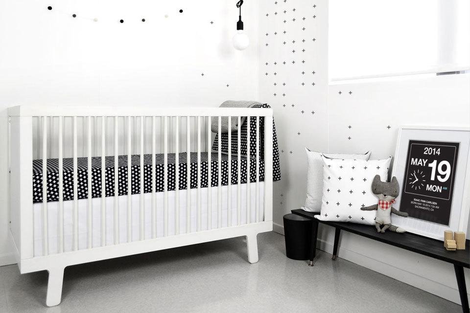 Gordijn Babykamer Babykamers : Babykamer zwart wit inspiratie voor zwart wit kinderkamers