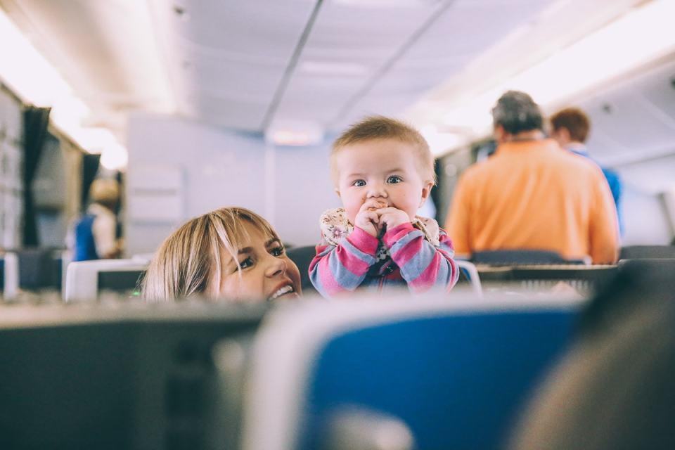 Vliegen met baby - Handige informatie en tips