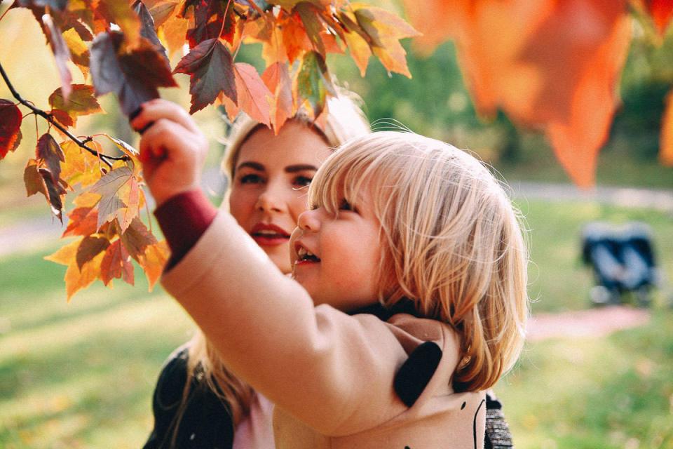5x In de herfst naar buiten met je kind