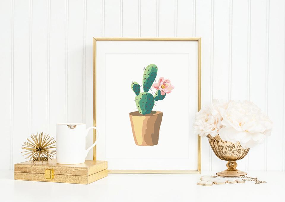 Cactussen in de babykamer: heel veel inspiratie!