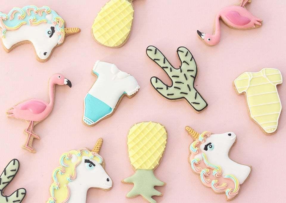 Deze handmade koekjes zijn súper voor je kraamfeest of babyshower