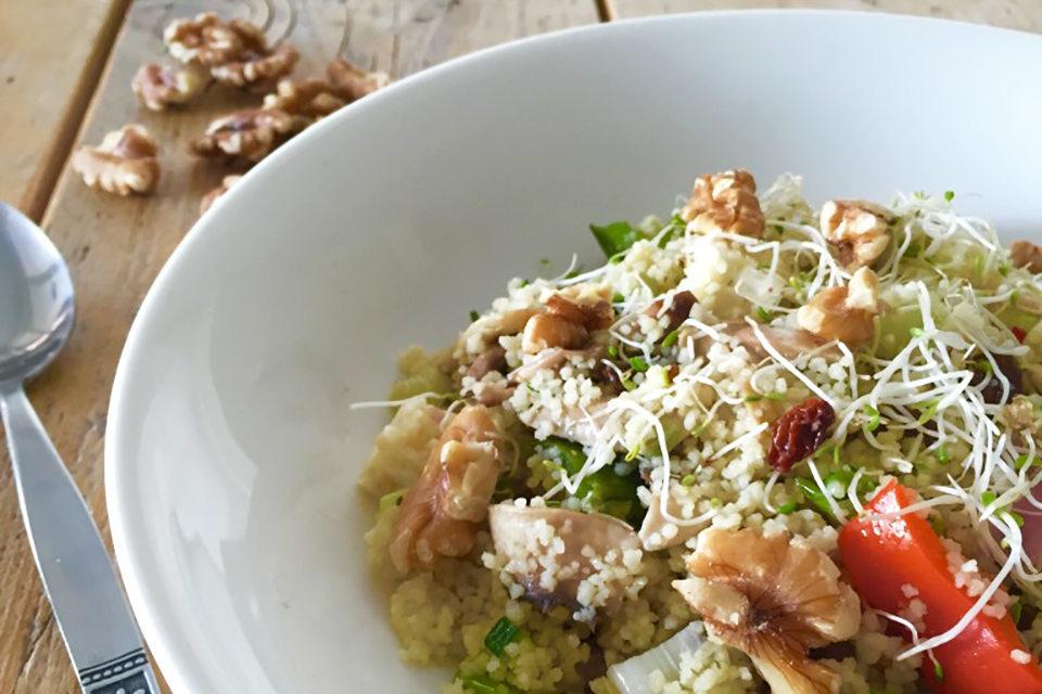 Recept: Couscous salade met feta