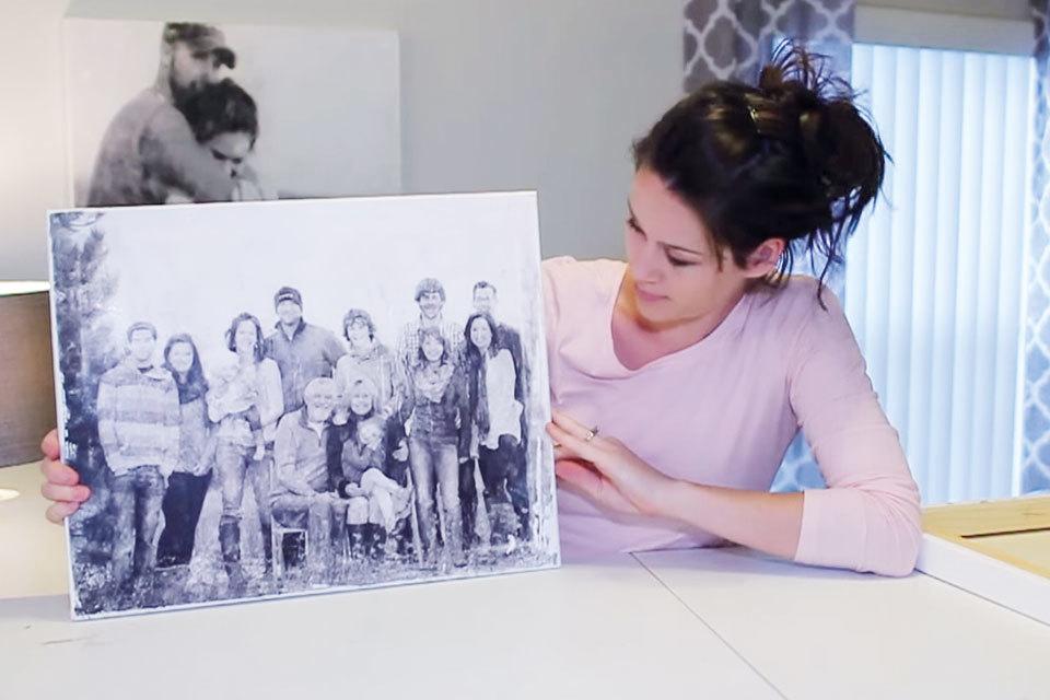 Een foto op canvas van je kind? Maak het zelf!