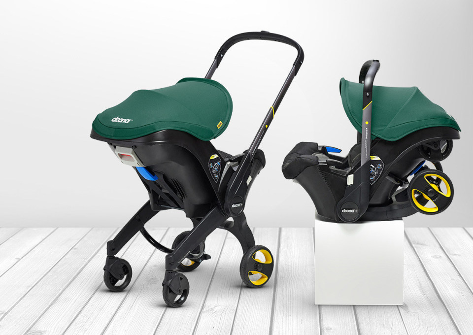Gespot! Doona: autostoel en kinderwagen in één