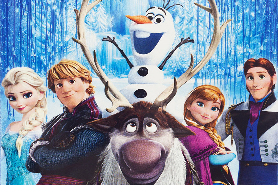 Frozen Elsa en Anna printables