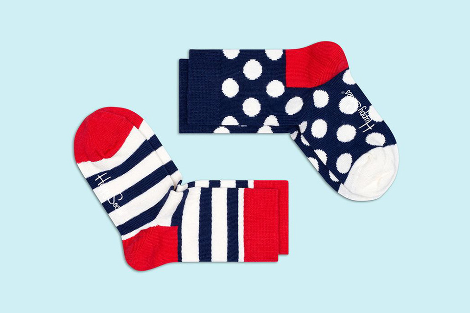 Happy Socks voor baby's en kinderen