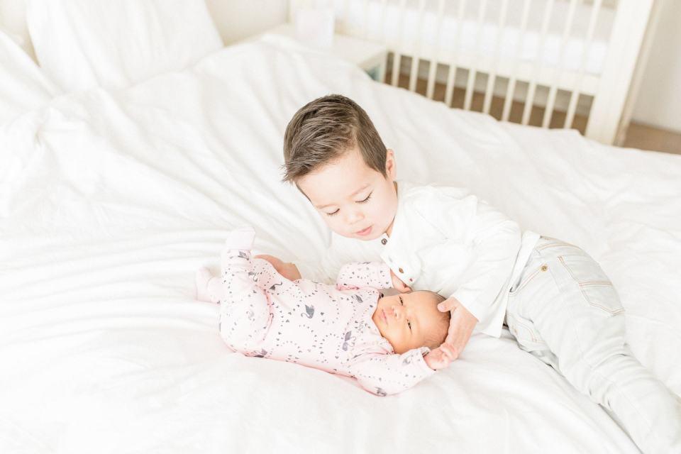 De overgang van één kind naar twee kinderen