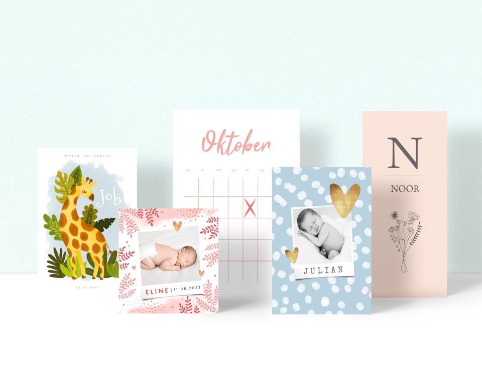 Geboortekaartjes versturen via Kaartje2go: hoe werkt het?