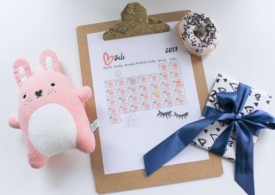 Kinderkalender - een overzicht voor je kind