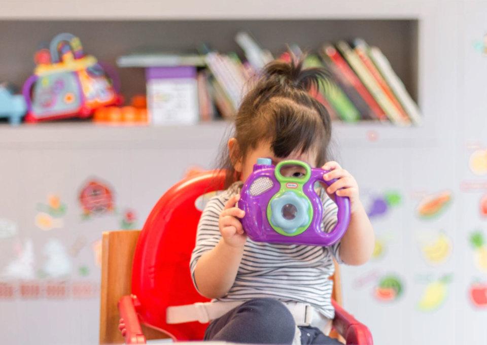 Spelletjes voor een kind van 2 jaar