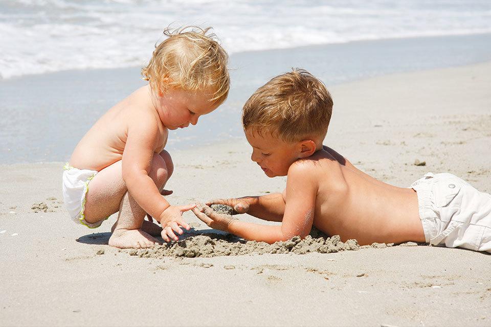Met je kind naar het strand - wat neem je mee?