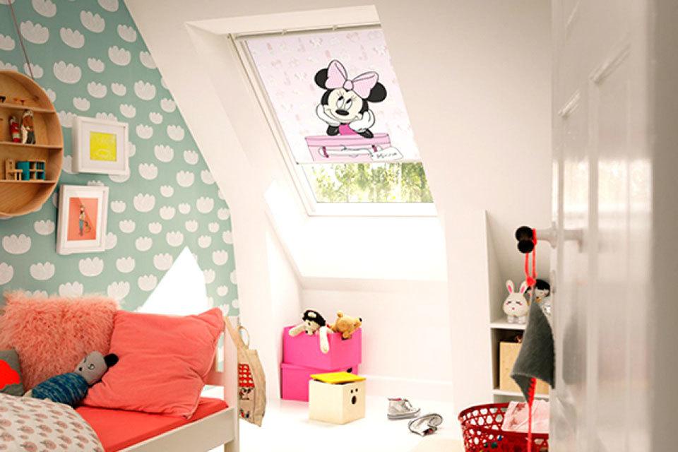 Rolgordijn Babykamer Inspiratie : Disney rolgordijnen minime