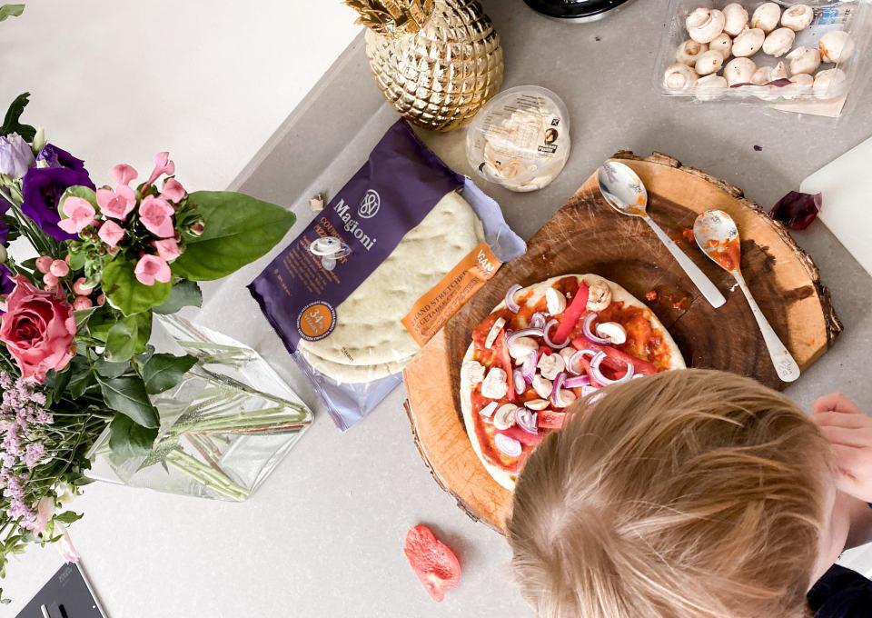 Gespot! Pizzabodems om gezonde pizza's te maken