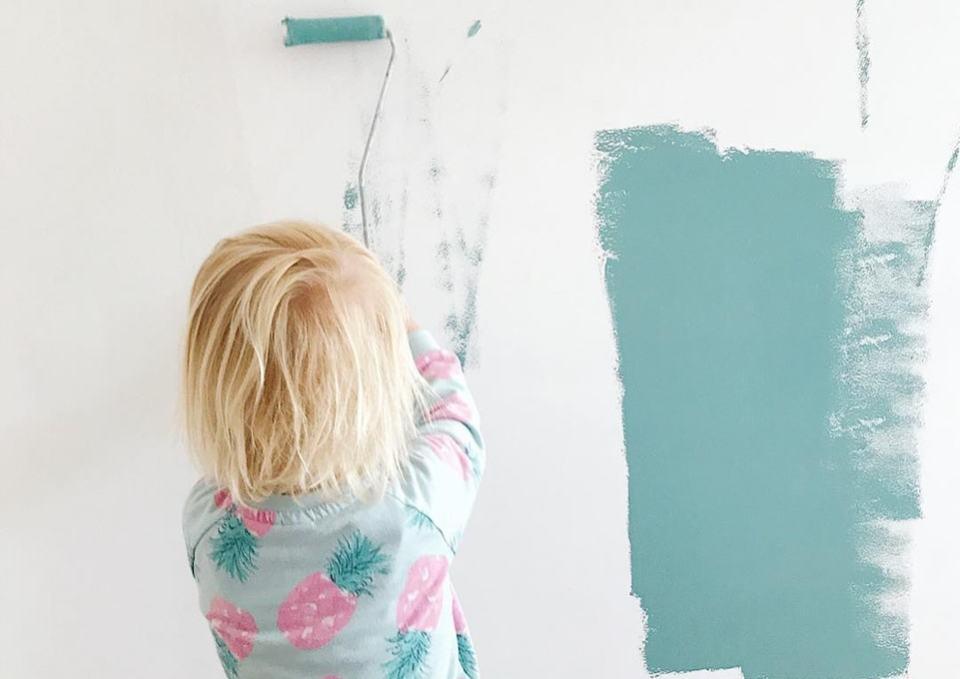 Babykamer kleuren de laatste trends minime