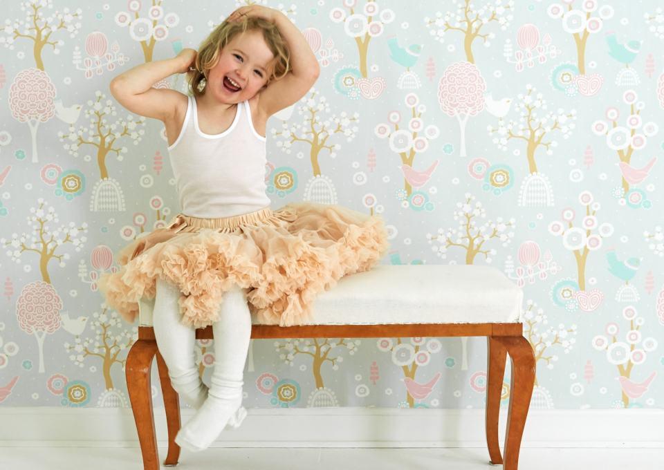MiniMe Loves: behang voor een meisjeskamer