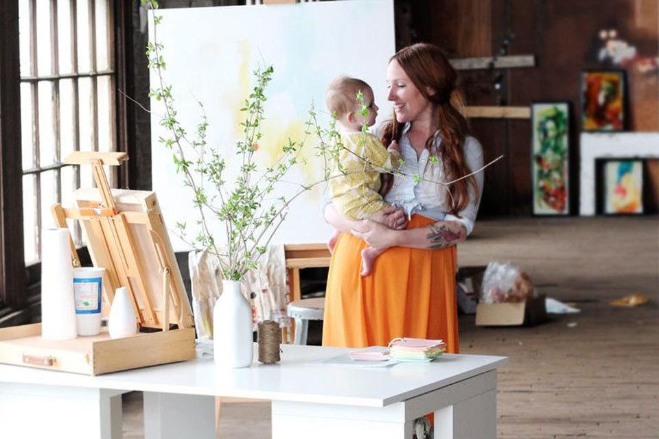 Werken met een baby - Zo maak je jouw carriere baby-proof!
