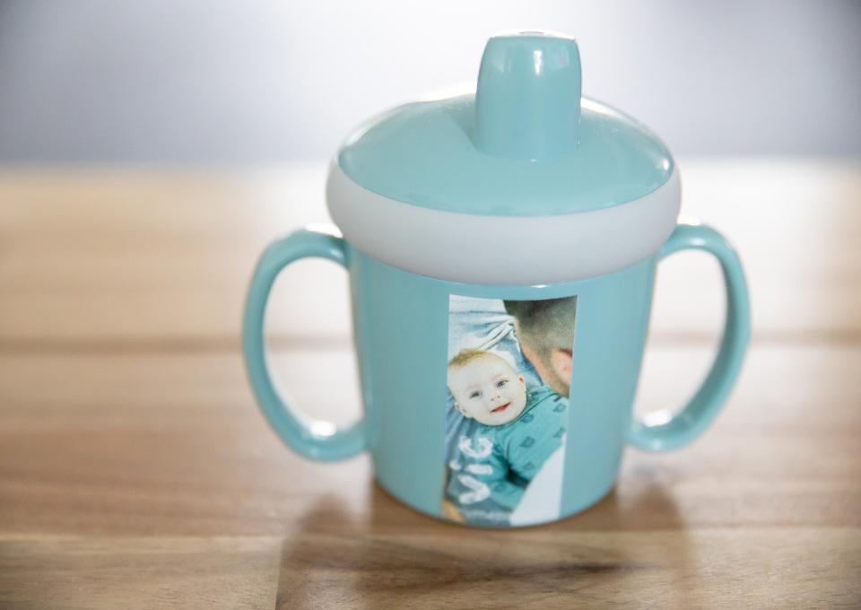 Je baby leren drinken uit een beker