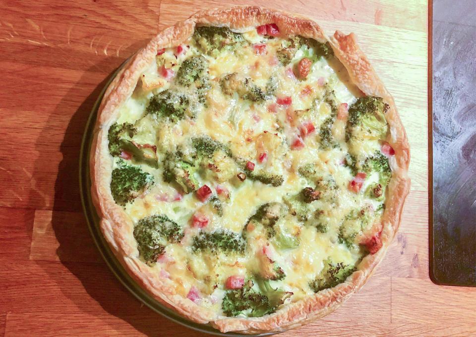 Recept: Kidsproof broccoliquiche