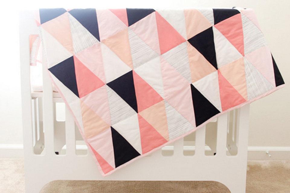 Quilt Patronen Baby.Quilt Maken Voor Baby Moderne Baby Quilts Minime Nl